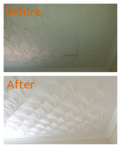 Artex ceiling renewal