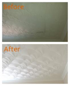 Artex ceiling renewal